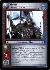lotr tcg return of the king eomer skilled tactician