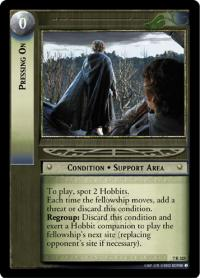 lotr tcg return of the king pressing on