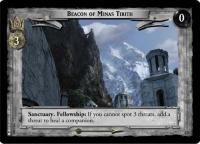 lotr tcg return of the king foils beacon of minas tirith foil