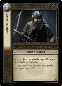 lotr tcg siege of gondor foils battle in earnest foil