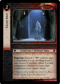 lotr tcg siege of gondor foils called away foil