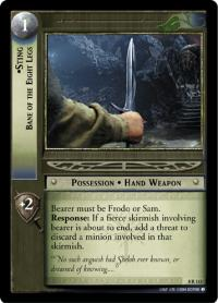 lotr tcg siege of gondor sting bane of the eight legs