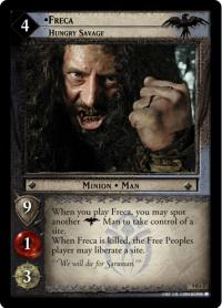 lotr tcg reflections freca hungry savage