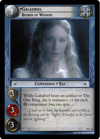 lotr tcg reflections galadriel bearer of wisdom