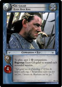 lotr tcg reflections gil galad elven high king