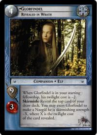 lotr tcg reflections glorfindel revealed in wrath