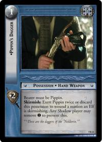 lotr tcg reflections pippin s dagger