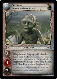 lotr tcg reflections smeagol bearer of great secrets