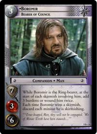 lotr tcg reflections boromir bearer of council