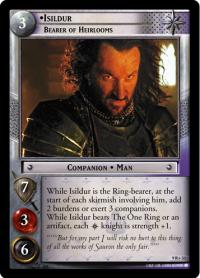 lotr tcg reflections isildur bearer of heirlooms