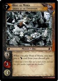 lotr tcg reflections host of moria legion of the underdeeps