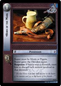 lotr tcg reflections horn of the mark