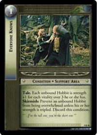 lotr tcg reflections everyone knows