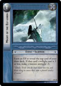 lotr tcg shadows might of the elf lords