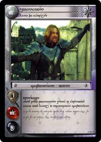 lotr tcg war of the ring anthology boromir hero of osgiliath