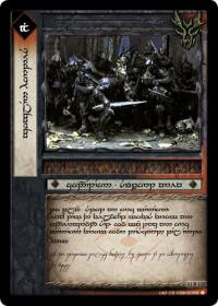 lotr tcg war of the ring anthology goblin hordes