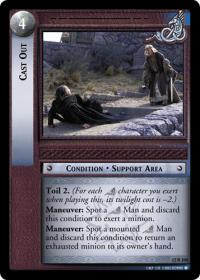 lotr tcg black rider cast out