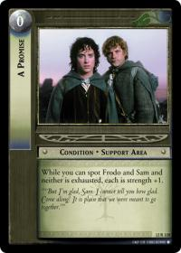 lotr tcg black rider a promise