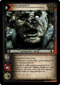 lotr tcg war of the ring anthology orc crusher