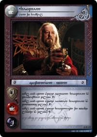 lotr tcg war of the ring anthology theoden the renowned