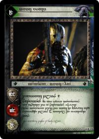lotr tcg war of the ring anthology uruk rogue