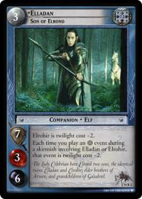 lotr tcg expanded middle earth elladan son of elrond