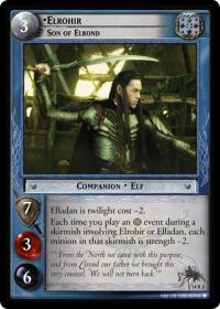 lotr tcg expanded middle earth elrohir son of elrond