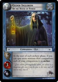 lotr tcg expanded middle earth gildor inglorion of the house of finrod