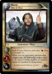 lotr tcg expanded middle earth brand king of dale
