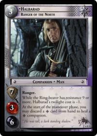 lotr tcg expanded middle earth halbarad ranger of the north