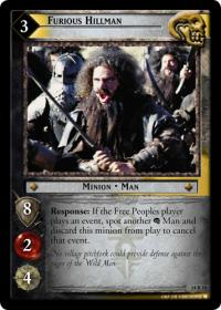 lotr tcg expanded middle earth furious hillman
