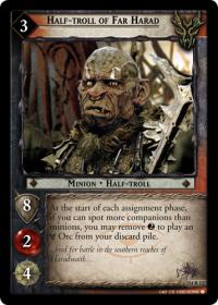 lotr tcg expanded middle earth half troll of far harad