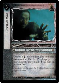 lotr tcg the hunters desperate move