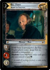 lotr tcg the hunters bill ferny agent of saruman