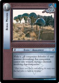 lotr tcg the hunters burial mounds