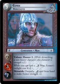 lotr tcg the hunters eomer horsemaster