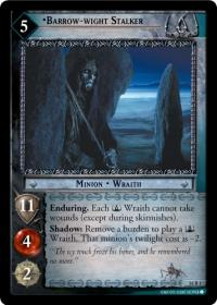 lotr tcg wraith collection barrow wight stalker