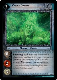 lotr tcg wraith collection candle corpses