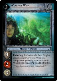 lotr tcg wraith collection covetous wisp