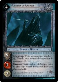 lotr tcg wraith collection undead of angmar