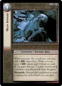 lotr tcg rise of saruman balin avenged