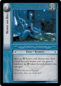 lotr tcg rise of saruman c uc hearth and hall
