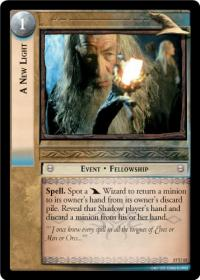lotr tcg rise of saruman c uc a new light