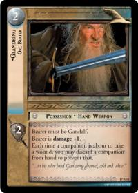 lotr tcg rise of saruman glamdring orc beater