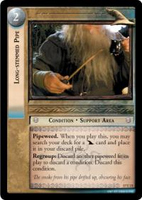 lotr tcg rise of saruman c uc long stemmed pipe