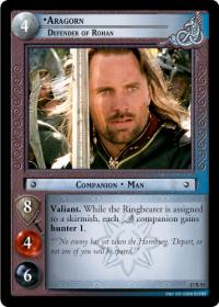lotr tcg rise of saruman aragorn defender of rohan