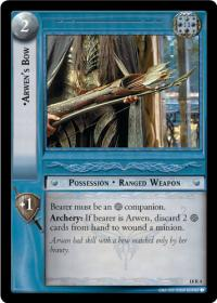 lotr tcg treachery and deceit arwen s bow