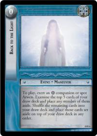 lotr tcg treachery and deceit back to the light