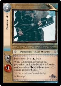 lotr tcg treachery and deceit beorning axe