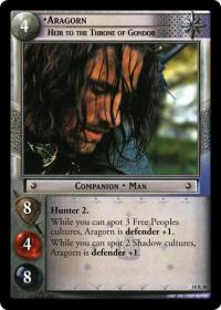lotr tcg treachery and deceit aragorn heir to the throne of gondor